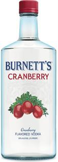 Burnett's Vodka Cranberry 750ml - Case of 12